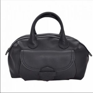 Handbags - Black faux leather satchel